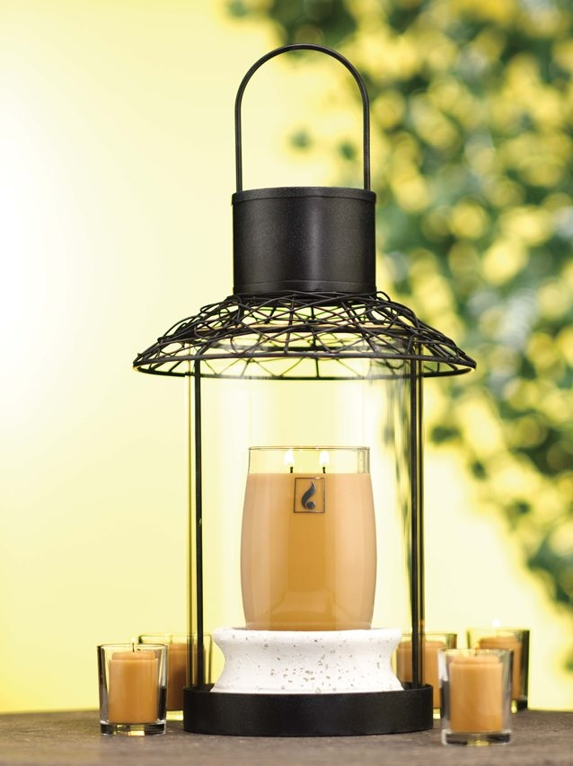 The stunning Entwined Lantern holder for hosts of Gold Canyon parties & events.