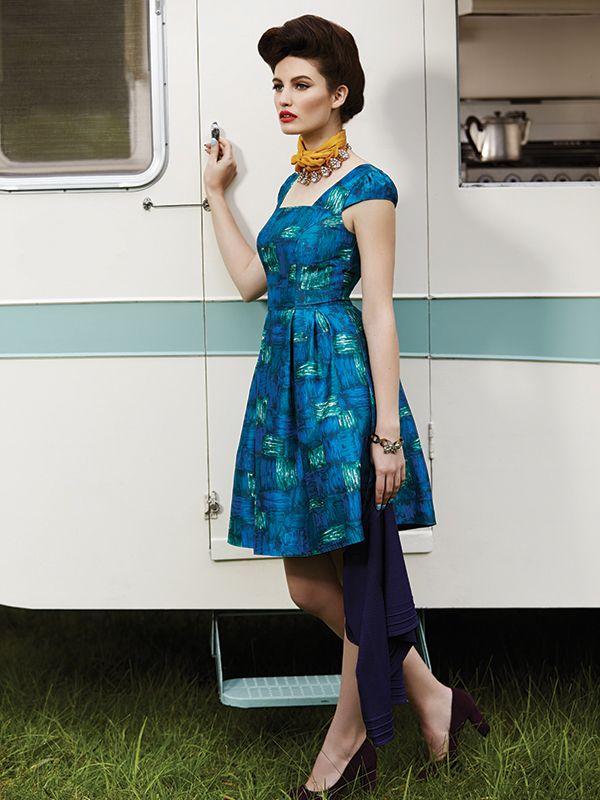The Arthouse Dress ✿ #retrostyle #vintagefashion #50s #60s