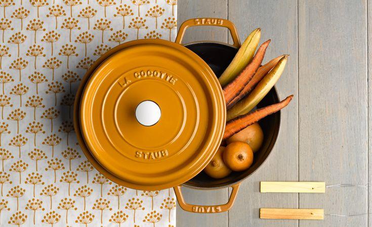 STAUB - Cocotte en fonte et céramique - STAUB