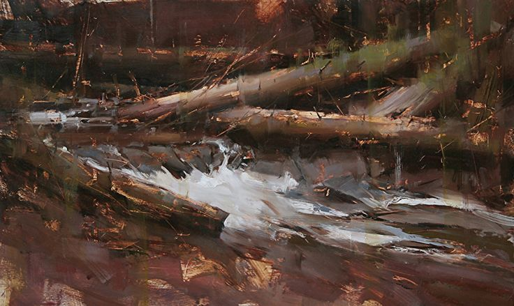 Spring Water by Tibor Nagy Oil ~ 11,8 x 19,7