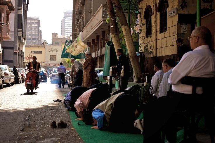 Cairo Prayer Time for some !