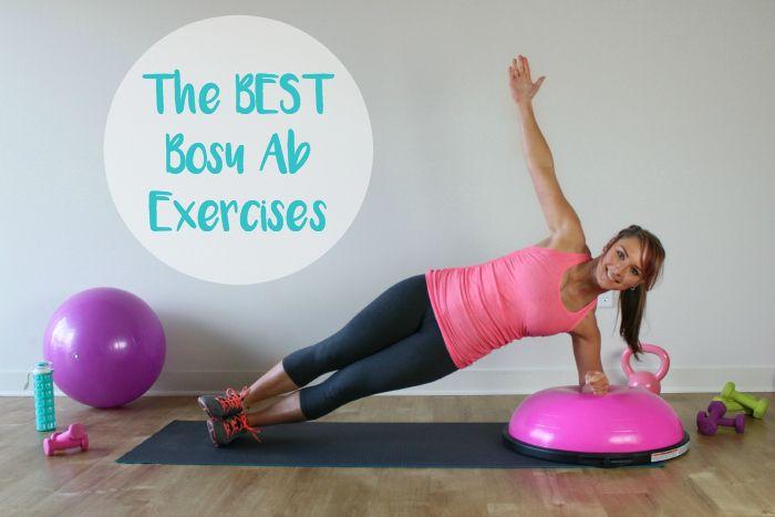 The BEST Bosu Ab Workout