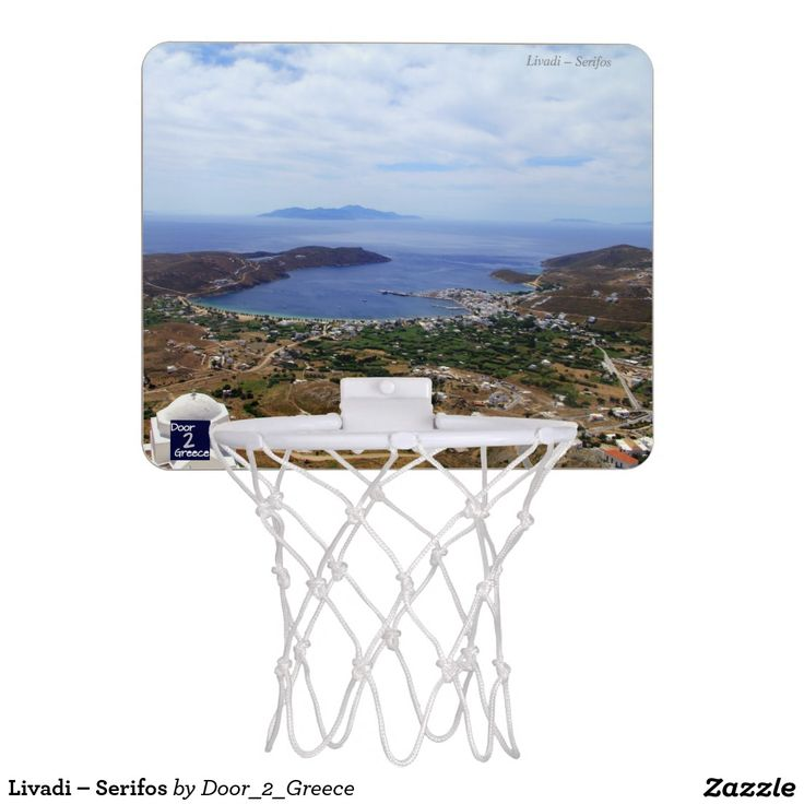 Livadi – Serifos Mini Basketball Hoops