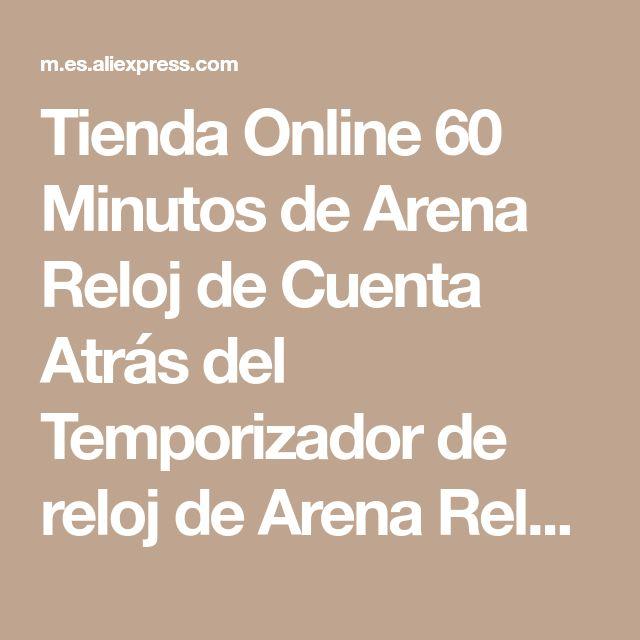Tienda Online 60 Minutos de Arena Reloj de Cuenta Atrás del Temporizador de reloj de Arena Reloj de Arena De Madera Moderna Decoración Del Hogar | Aliexpress móvil