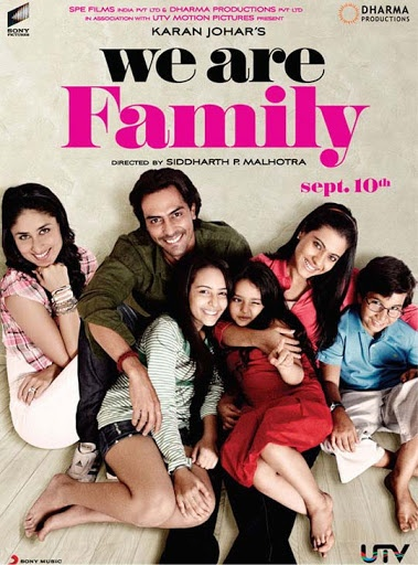 we+are+family 30+ Creative Bollywood Movie Posters | Design Inspiration ... Watch Bollywood Entertainment on your mobile FREE : http://www.amazon.com/gp/mas/dl/android?asin=B00FO0JHRI