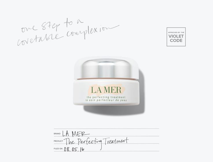 La Mer The Perfecting Treatment l A velvety face gel that diffuses light and blurs imperfections l Editor's Pick l The Violet Files l @violetgrey