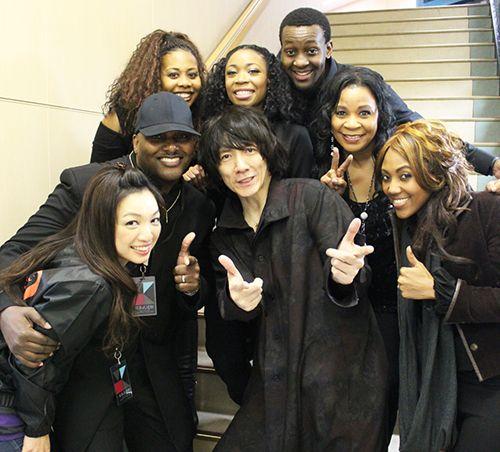 (ジェンナ)黒人バックコーラス…吉井和哉さんLIVE@武道館!|【東京】ゴスペルスクエア(渋谷)のブログ★GQファミリーの日々~NGOゴスペル広場~