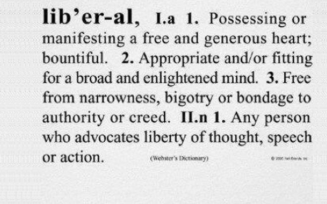 Definition of liberal
