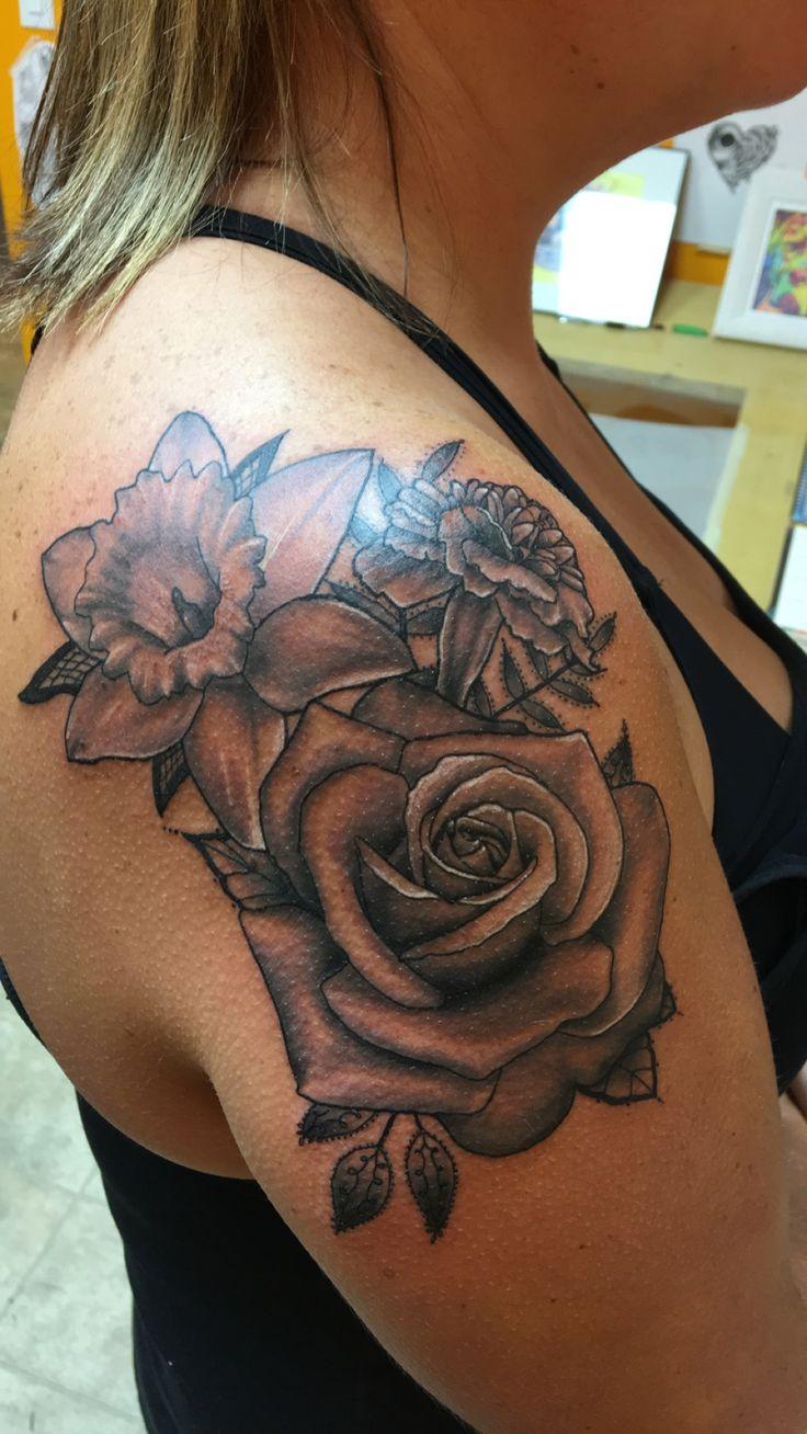 Pin by Amy McLaren on Tattoos Tattoos, Flower tattoo