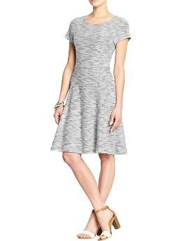Womens Terry-Fleece Dresses