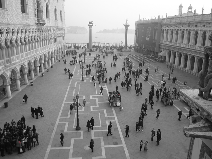 St Marks Square. Venice.