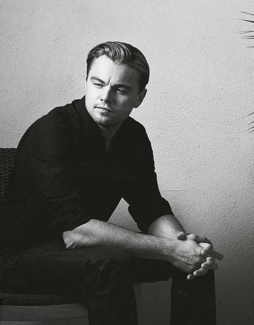 Leonardo DiCaprio... my brother is starting to look like him!