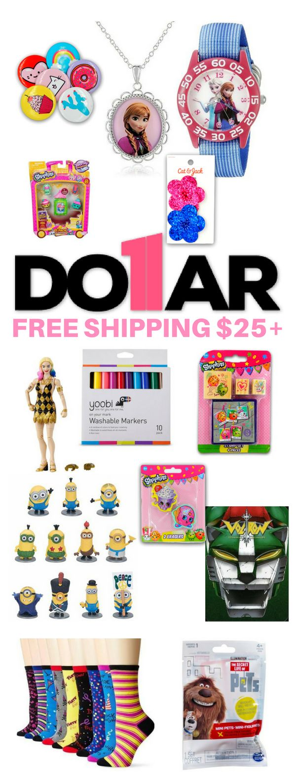 THIS WEBSITE IS AWESOME!! Thousands of items starting at only $1.00 and everything ships FREE over $25! Bookmarking this site for christmas stocking s…
