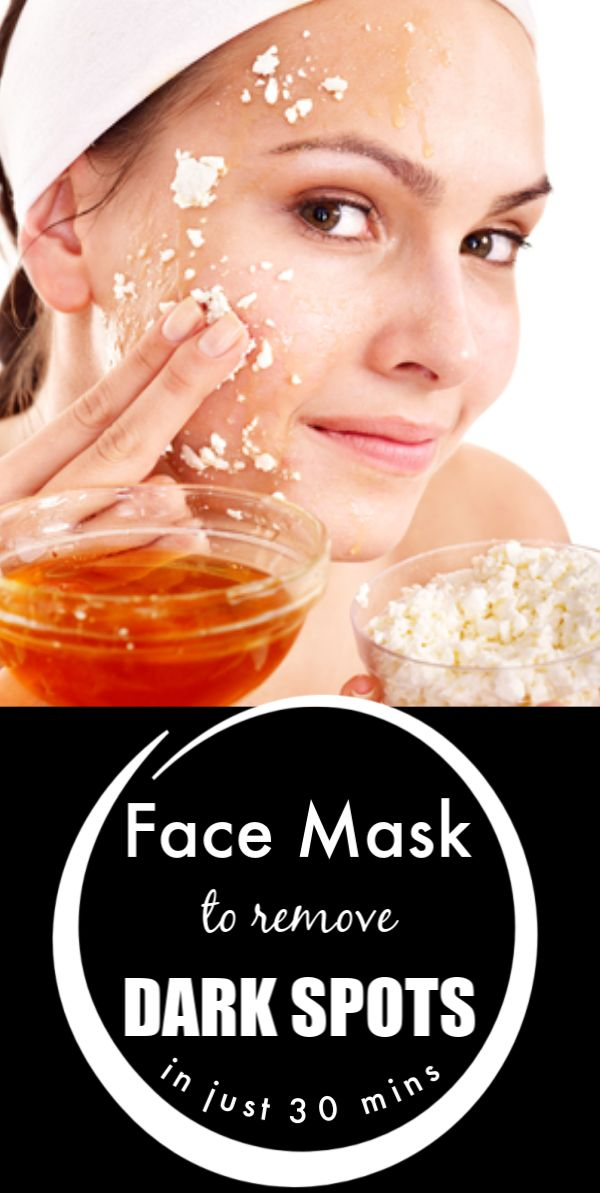 One mask that removes all dark spots from your face in just 30 minutes