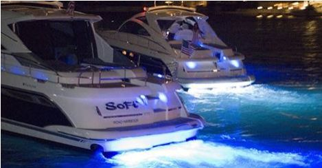 The high-intensity underwater boat lights available at BoatLightsUS are totally waterproof and designed to be installed above or below the waterline. The LED underwater lights are totally resin sealed which means they can be operated underwater. The Led lights are not only proven to attract bait fish at night, but the powerful LED Lights will add an ambience to your vessel. To pick your choice of underwater boat lights, visit http://www.boatlightsus.com/ ‪#‎BoatLights‬…
