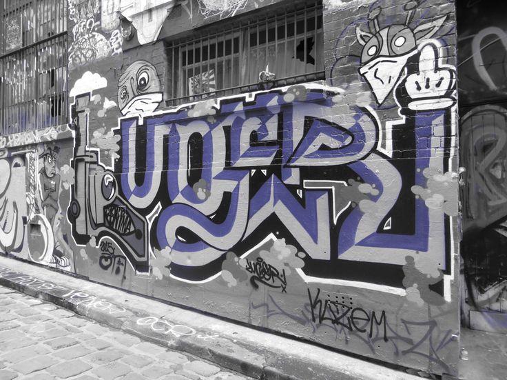 Graffiti art in Melbourne
