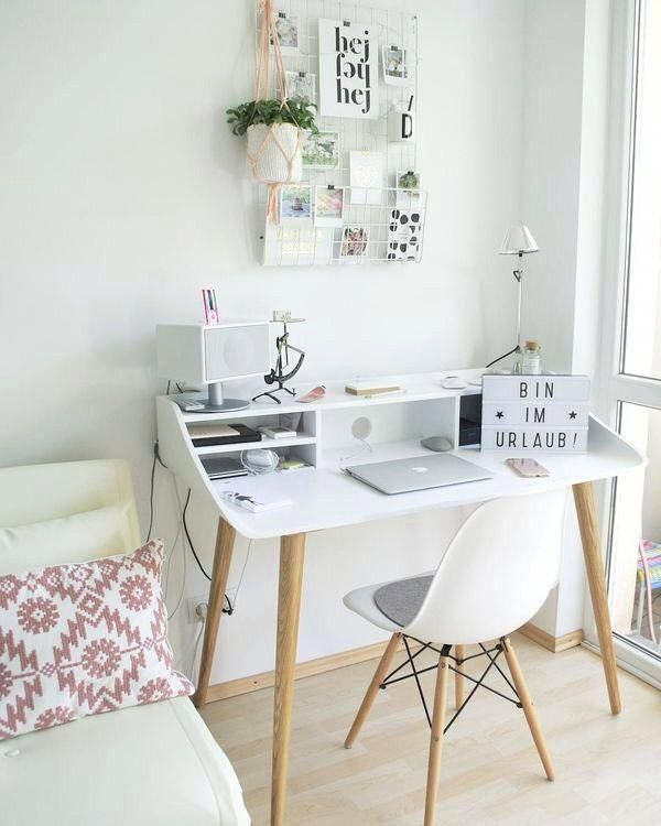 Custom Homeoffice Desk: Minimal Residence Desk Office Is One Place That Is Now
