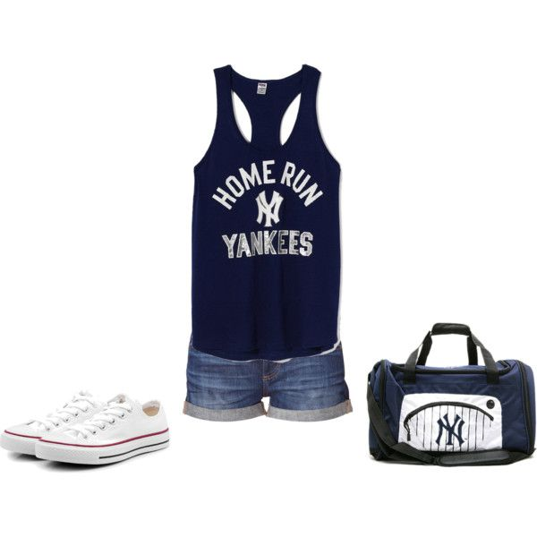 """New York Yankees""     by sabrina-e-ortiz-michaels on Polyvore"