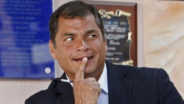 Eco. Rafael Correa presidente del Ecuador