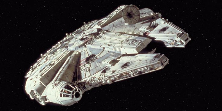 The Millennium Falcon soared into our lives in 1977.