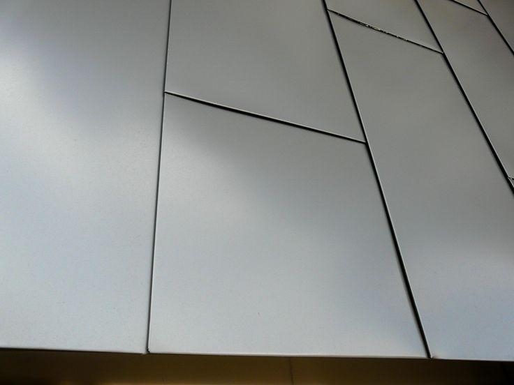 Flat Lock Panel Aluminium Design Cladding Zta Houses