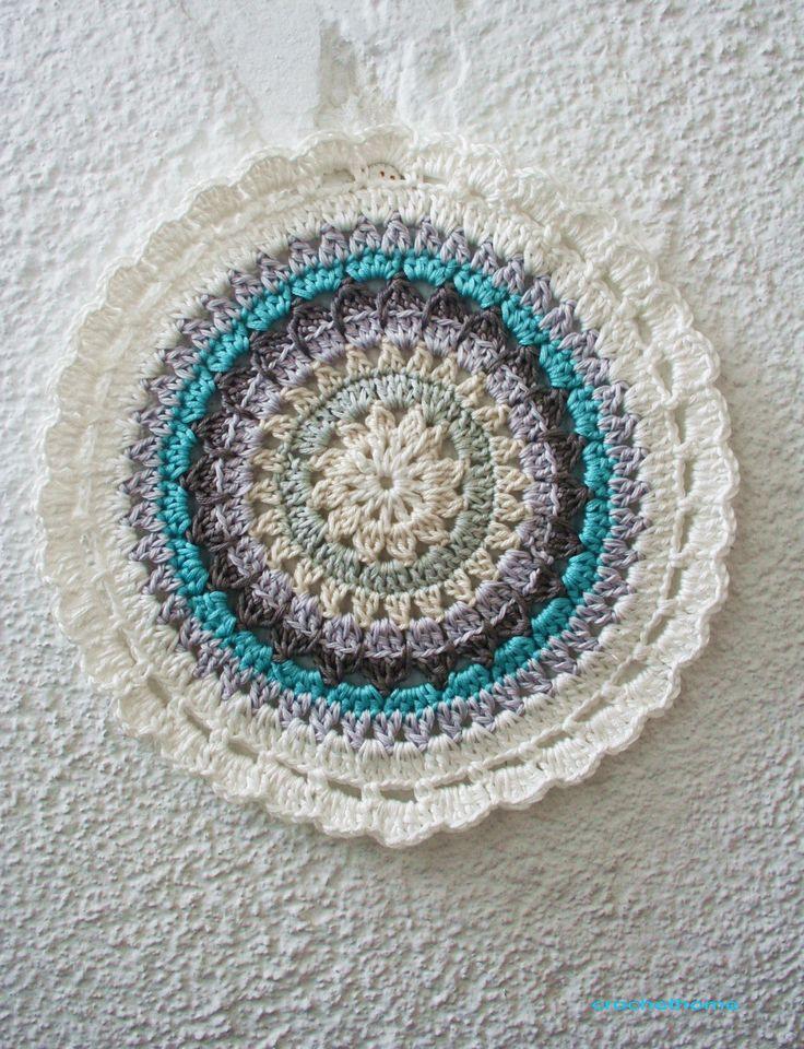 Mandala pattern: Crochet Ideas, Mandala Crochet, Crochet Circles, Mandala Patterns, Crochet Mandala, Cro Real Tmandala, Crochet Doilies, Free Patterns, Crochet Patterns