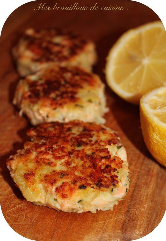 Croquette de saumon