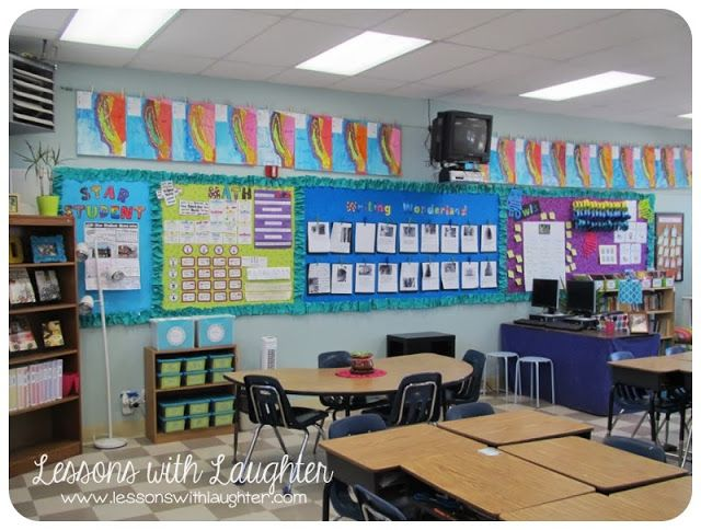 Classroom Theme Ideas 4th Grade ~ Lessons with laughter classroom full of fourth grade fun