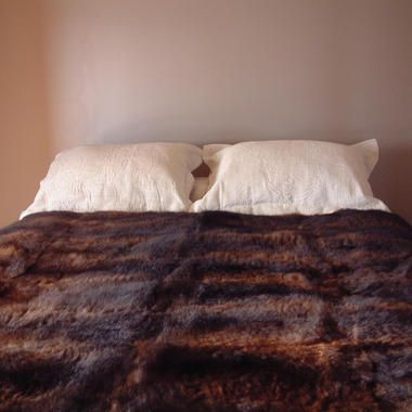 40 Skin Possum Fur Throw/Quilt