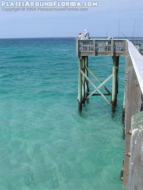 St andrews pier the g c tiller memorial pier at st for Panama city florida fishing