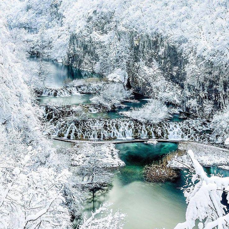 National Park Plitvica Lakes [960x960]   landscape Nature Photos