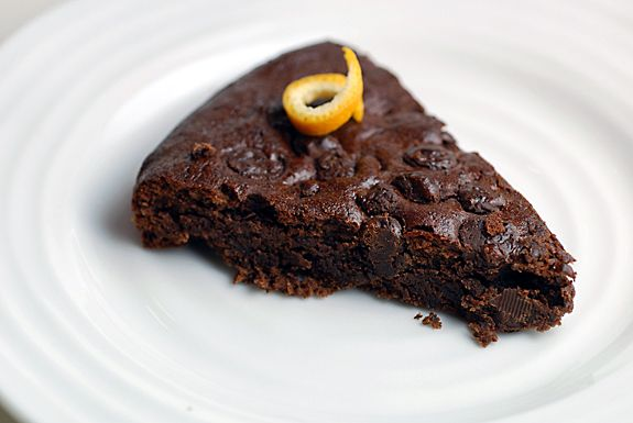 Double Chocolate Orange Torte | Elana's Pantry