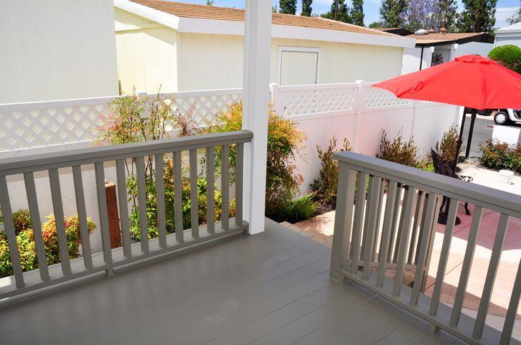 Lancer Mobile Home For Sale in Irvine CA, 92620.  grey rails