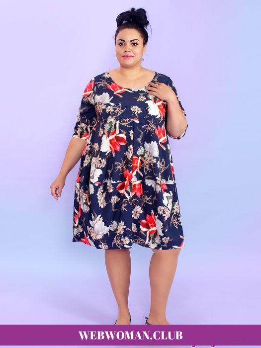 Платье Барби Магнолия Magesty Повседневные платья для полных, сарафаны, платья-туники, комбинезоны.Платье Барби Магнолия Magesty