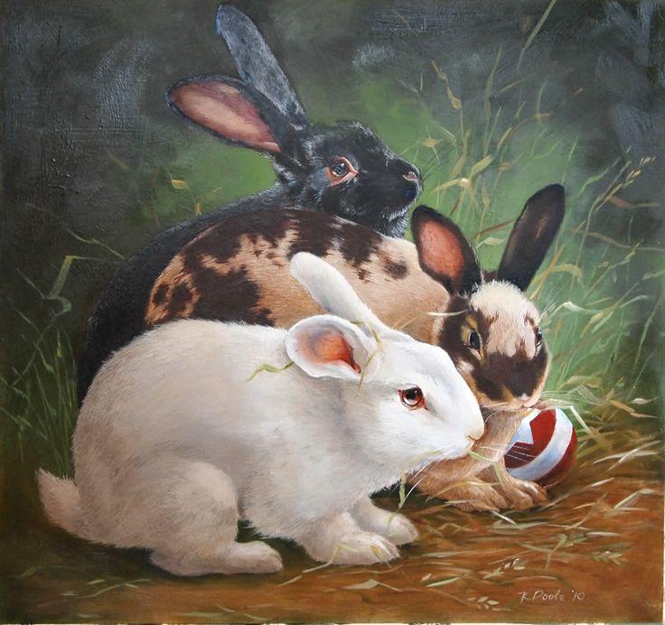 кролики фэнтези картинки реза
