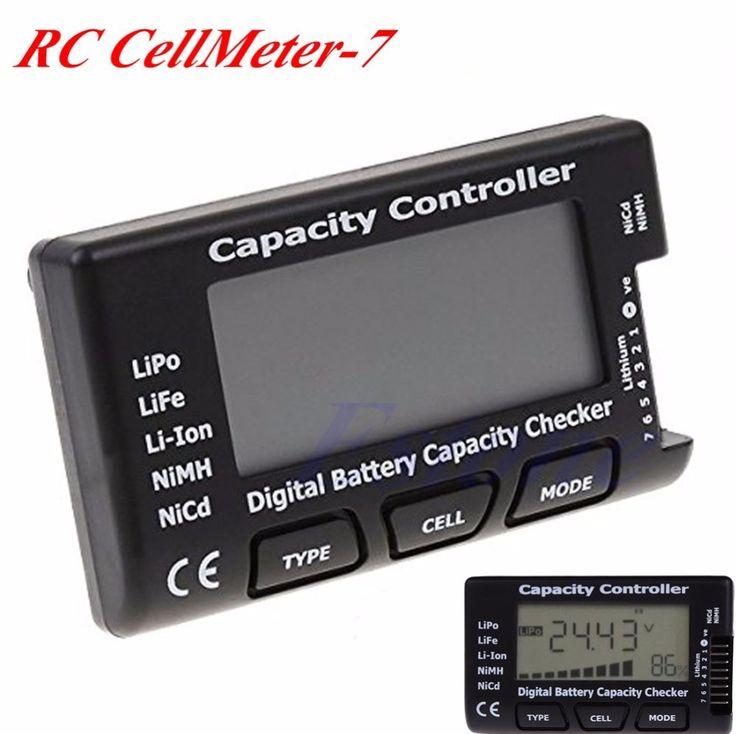 Бесплатная Доставка Цифровой Емкость Батареи Checker RC CellMeter 7 Для LiPo LiFe Литий-Ионный NiMH Nicd