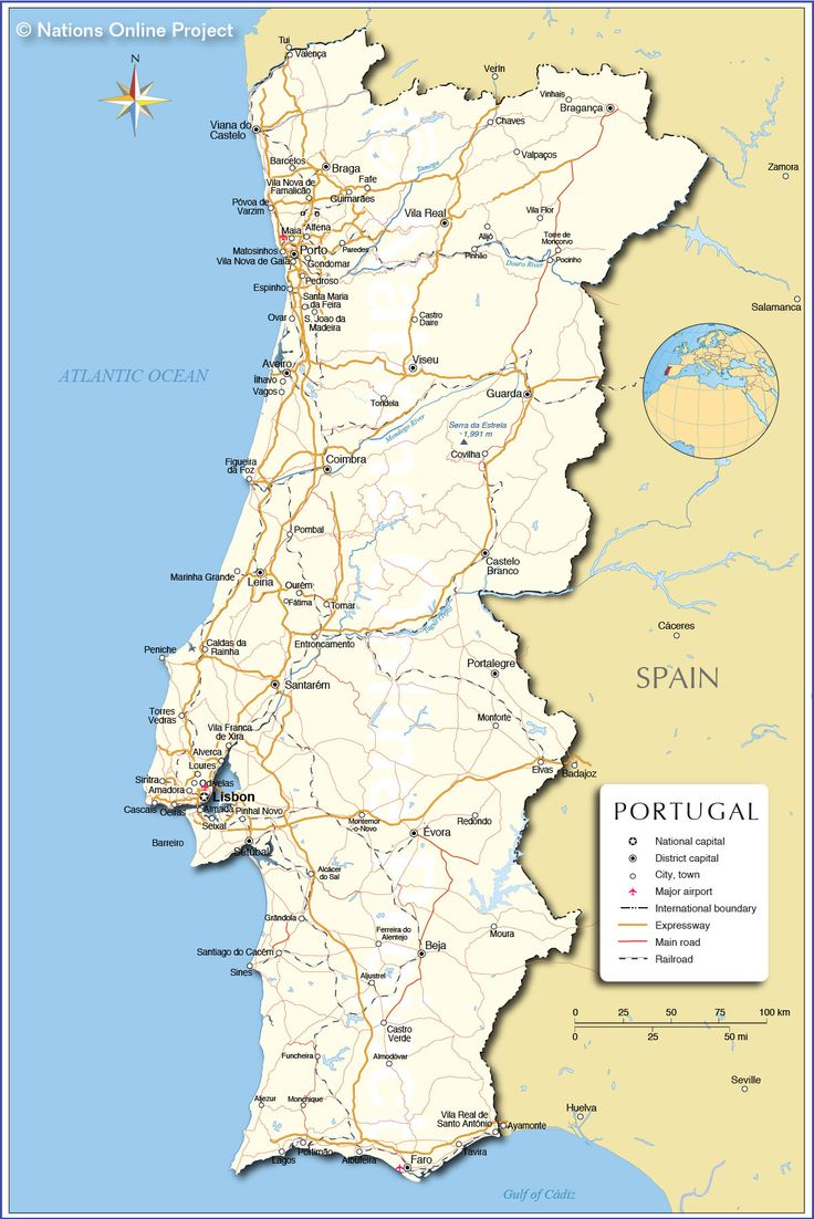 Best Map Of Portugal Ideas On Pinterest Best Places In - Portugal map aveiro