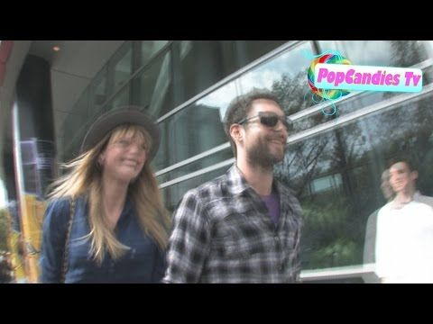 Adam Levine & Anne Vyalitsyna at Staples Center in Los Angeles - http://maxblog.com/11921/adam-levine-anne-vyalitsyna-at-staples-center-in-los-angeles/
