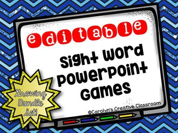 Need something engaging to practice sight words?? Look no further!Students will compete throwing soft objects at the board to hit the target. You can edit the sight words and play this game all year! I will be adding different games throughout the year!This packet includes:- 2 targets- 5 targets- Presents- red and blue snowflakes- Igloos*UPDATED 12/29- Penguins- Icebergs- Snowman- Sleds- MittensCheck back each month for added slides!