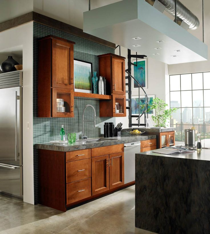 Mantle Over Sink, Tile To Ceiling. Waypoint Living Spaces