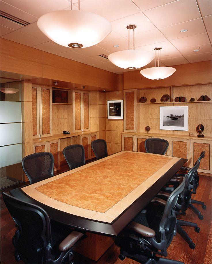 Conference room in Maple Burl, Maple Quarter Figured, Anigre Quarter Figured and Anigre Quarter #maple #mapleburl #anigre #veneer #woodveneer #bohlke