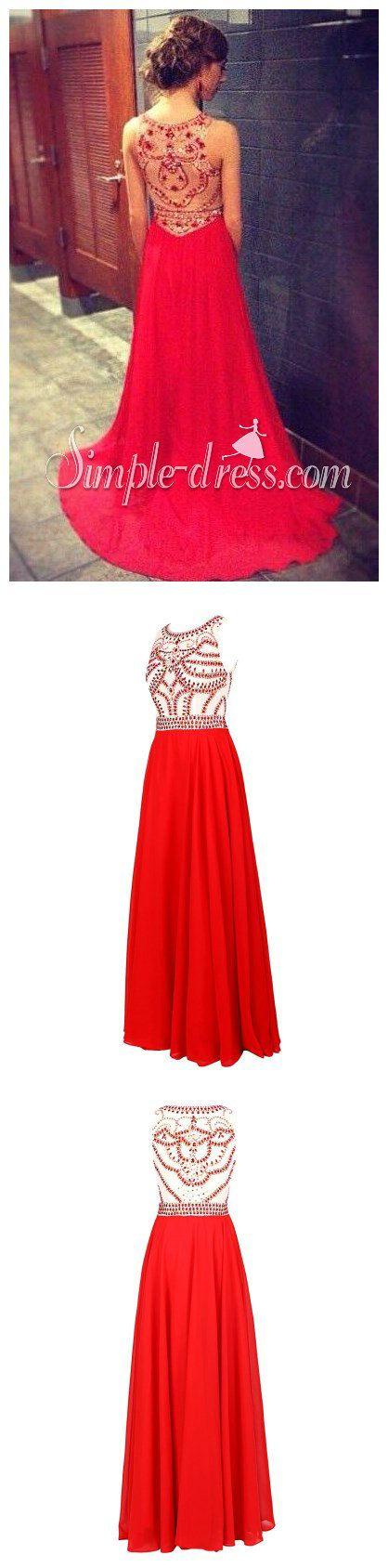 prom dress, 2016 prom dress, red prom dress, graduation dress, party dress