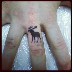 cute moose tattoo - Google Search