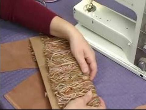 How to Make a Hobby Horse For Kids : How to Position Yarn Mane for Hobby Horse - YouTube