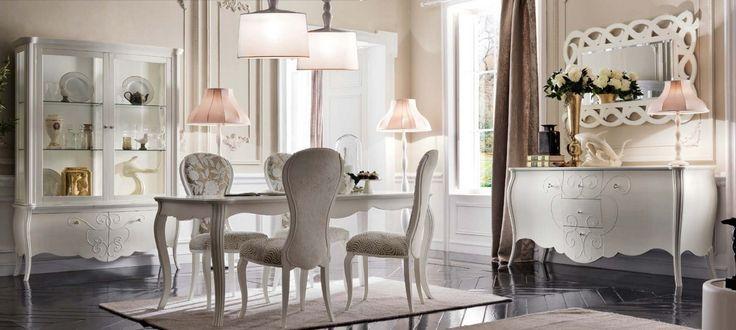 Jadalnia FR016 - Salony i Jadalnie - Rad-Pol - Meble Stylowe, meble włoskie, klasyczne meble retro, sofy stylowe, narożniki