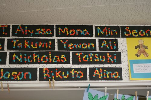 """""""mozaiek"""" naam van stukjes gekleurd papier"""