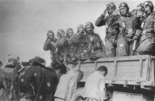 Japanese Kamikaze Pilots: World War II