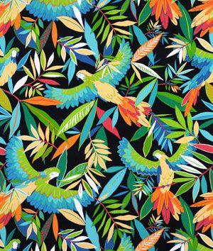 Richloom Outdoor Tucuman Ebony Fabric