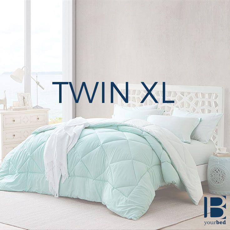 Hint of Mint/Yucca Twin XL Comforter #Comforter #Bedding #Reversible #Luxury #ComfortProof