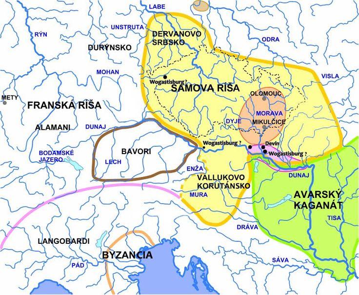Slovanské Hradiská: Wogastisburg - najvýznamnejšie hradisko Samovej ríše
